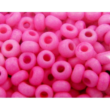 Preciosa biseris (00932) ryškiai rožinės spalvos 50 g