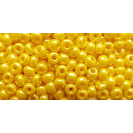 Preciosa biseris (88130) perlamutrinės geltonos spalvos 50 g