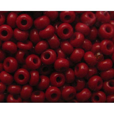 Preciosa biseris (93310) tamsiai raudonos spalvos 50 g