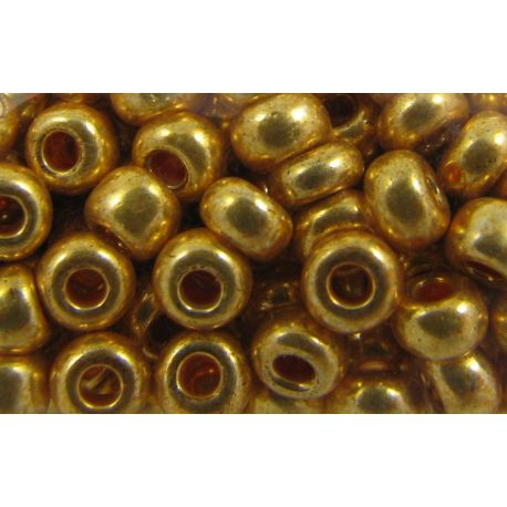 Preciosa Seed Beads (18581-10) gold color 50 g