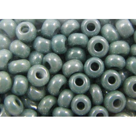 Preciosa Seed Beads (46055-10) shiny moss color 50 g