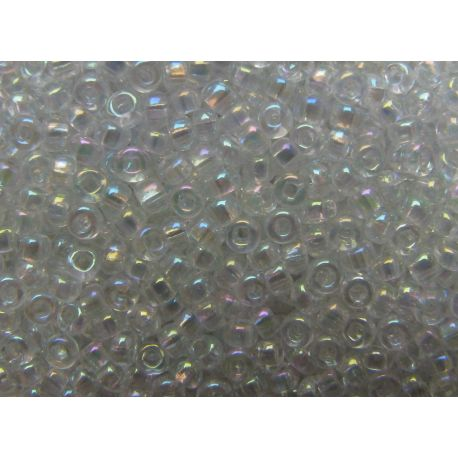 Preciosa Seed Beads (58205-10) high-gloss transparent color 50 g