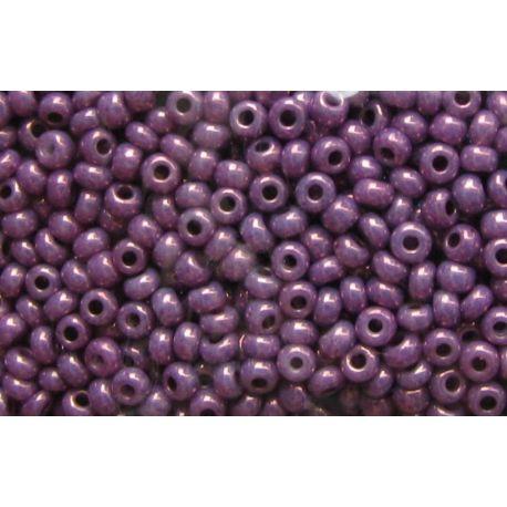 Preciosa Seed Beads (46025-10) shiny purple 50 g