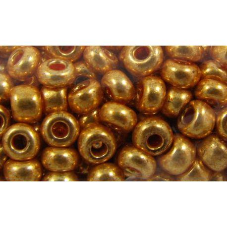 Preciosa seemnehelmed (18583-10) kuldvärv 50 g