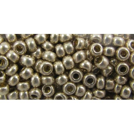 Preciosa biseris (18113-10) blizgios sidabrinės spalvos 50 g