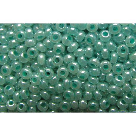 Preciosa Seed Beads (00906-10) shiny greenish 50 g