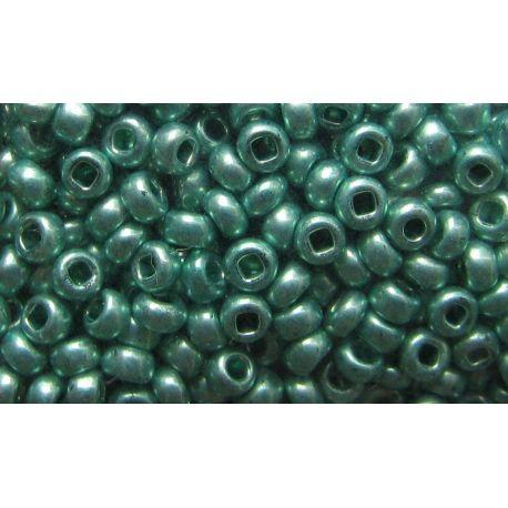 Preciosa Seed Beads (18558-10) shiny green color 50 g