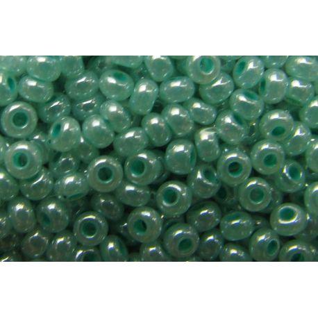 Preciosa Seed Beads (37358-10) permalutr greenish 50 g