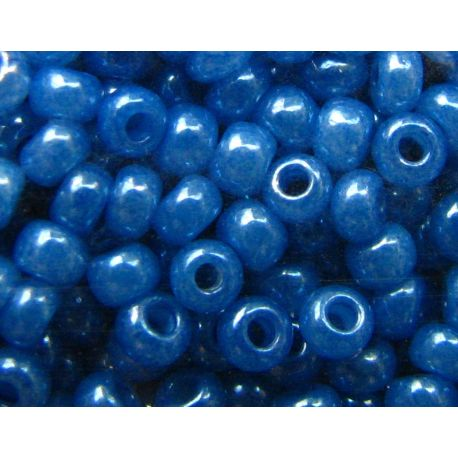 Preciosa Seed Beads (17136-10) pearly blue 50 g