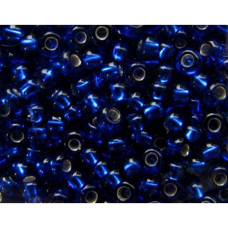 Preciosa Seed Beads (37080-10) transparent blue 50 g