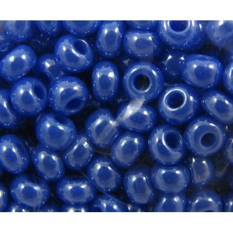 Preciosa Seed Beads (00736-10) shiny blue 50 g