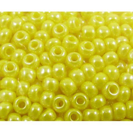 Preciosa biseris (88130-10) blizgios geltonos spalvos 50 g