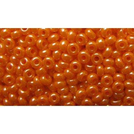 Preciosa seemnehelmed (00591-10) läikiv erkoranž värv 50 g