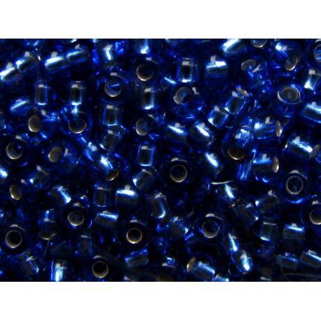 Preciosa biseris (37050-10) mėlynos spalvos 50 g