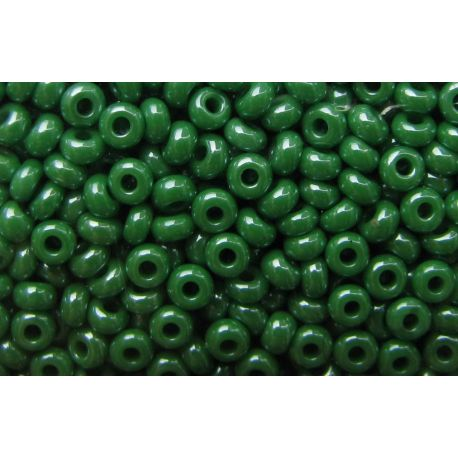 Preciosa Seed Beads (58250-10) pearly green color 50 g