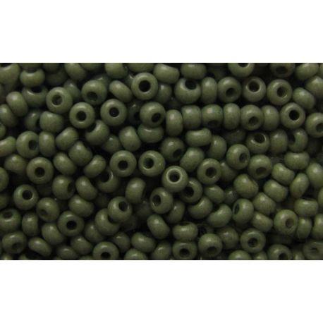 Preciosa Seed Beads (00980-10) moss color 50 g