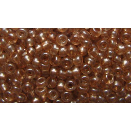 Preciosa biseris (08318-10) skaidriai šviesiai rudos spalvos 50 g