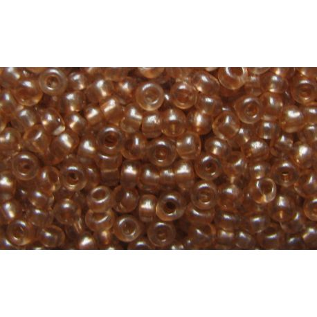 Preciosa Seed Beads (08318-10) clear light brown 50 g