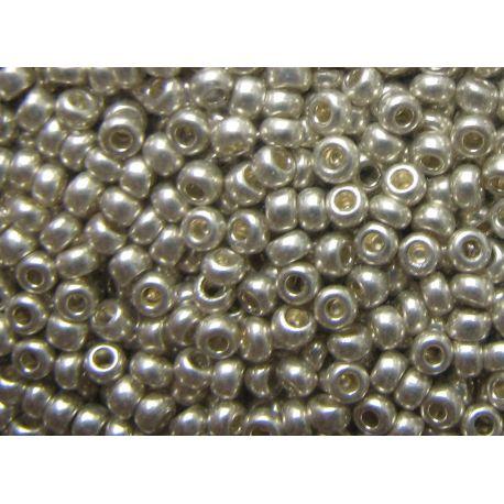 Preciosa Seed Beads (18503-10) silver color 50 g