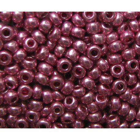Preciosa seemnehelmed (18595-10) metalliseeritud roosad 50 g