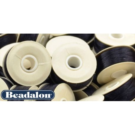 Beadalon Thread, Black Size D 58.5 m