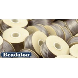 Beadalon Thread, Grey Size D 58.5 m