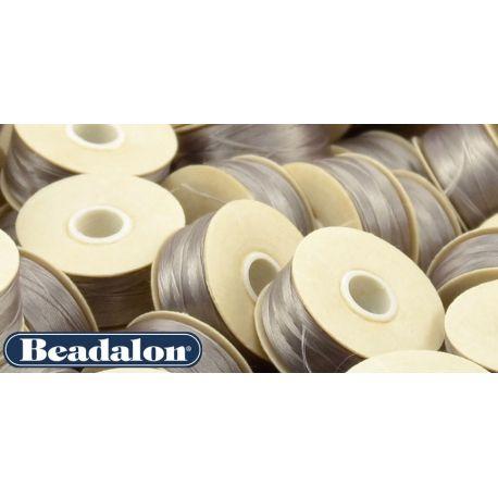 Beadalon Thread, Grey Size D 58.5 m