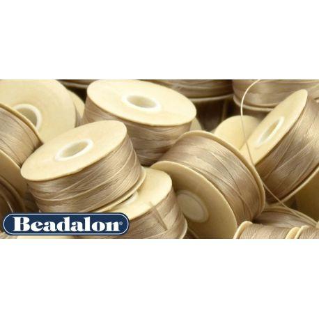 Beadalon Thread, Yellowish D Size 58.5 m