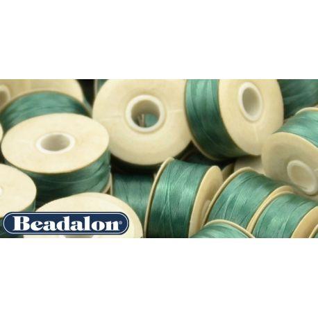 Beadalon Thread, Green D Size 58.5 m