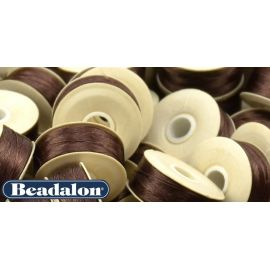 Beadalon Thread, Brown D Size 58.5 m