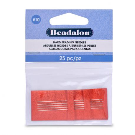 Beadalon piercing needles 10 size 25 pcs.
