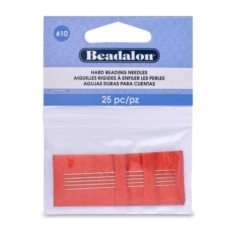 Beadalon piercing needles 10 size 25 pcs.