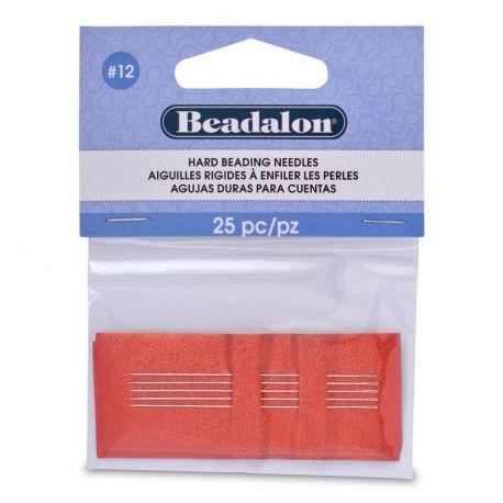 Beadalon of the piercing needle 12 size 25 pcs.