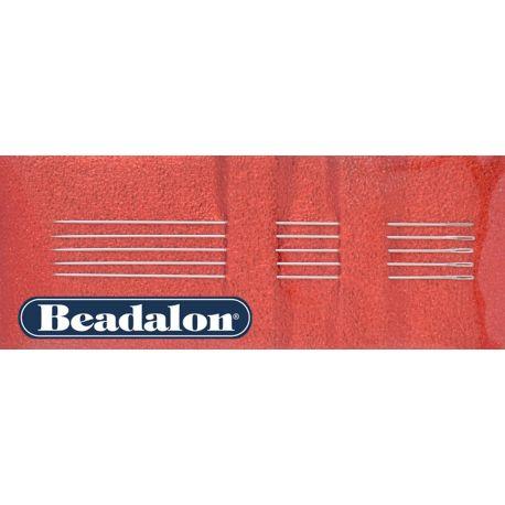 Beadalon vėrimo adatos 10 dydžio 5 vnt.