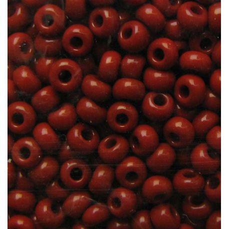 Preciosa biseris (13600-10) rudos spalvos 50 g