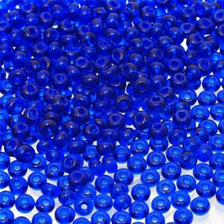 Preciosa biseris (60300-10) tamsios mėlynos spalvos 50 g