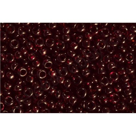 Preciosa Seed Beads (90120-10) dark red color 50 g