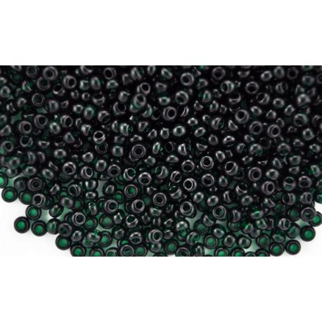 Preciosa seemnehelmed (50150-10) läbipaistev tumeroheline värv 50 g