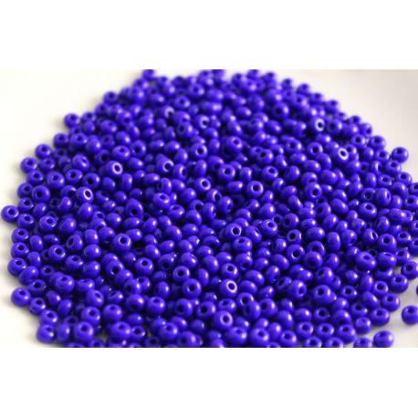 Preciosa biseris (33060-8) ryškiai mėlynai violetinės spalvos 50 g