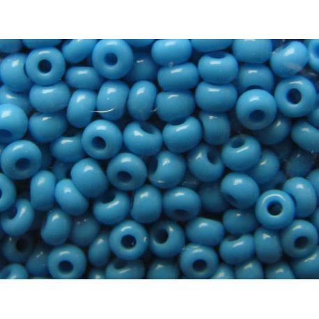 Preciosa biseris (63050) šviesiai mėlynos spalvos 50 g