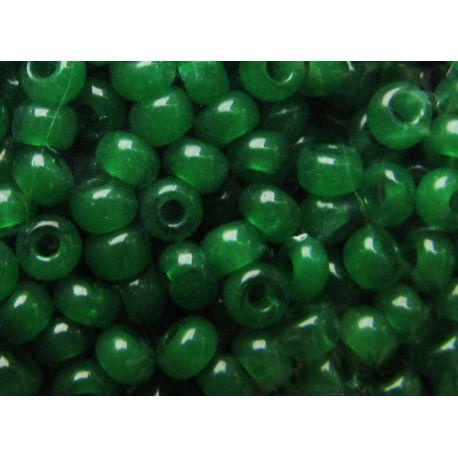 Preciosa Seed Beads (52240) rich green 50 g