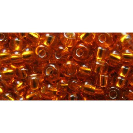 Preciosa biseris (00227) gelsvai oranžinės spalvos 50 g
