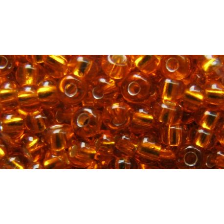 Preciosa Seed Beads (00227) yellowish-orange 50 g