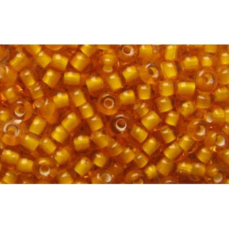 Preciosa biseris (00976) skaidrios gintarinės spalvos 50 g