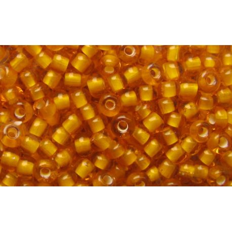 Preciosa seemnehelmed (00976) läbipaistev merevaigukollane värv 50 g