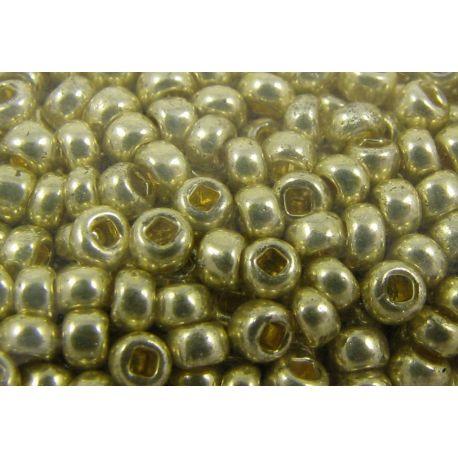 Preciosa Seed Beads (18181-11) gold color 50 g