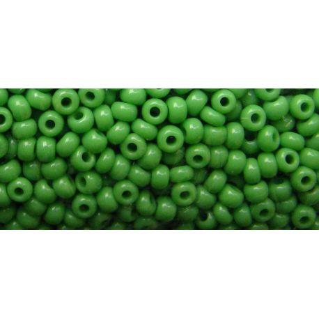 Preciosa biseris (53230-11) ryškios žalios spalvos 50 g