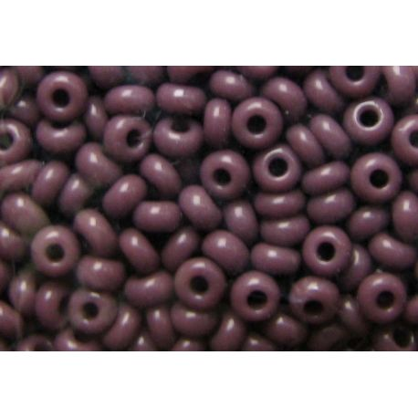 Preciosa Seed Beads (23040-11) dark purple color 50 g