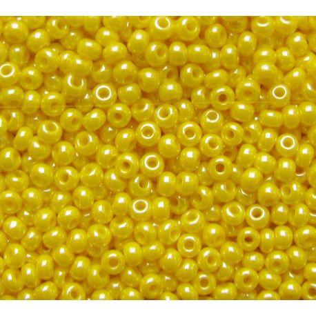 Preciosa biseris (88110-11) blizgios geltonos spalvos 50 g