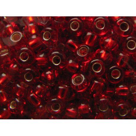 Preciosa biseris (97070) skaidrios raudonos spalvos 50 g